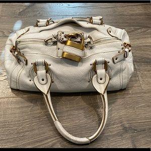 😍 Authentic Vintage Chloe Leather Paddington Bag